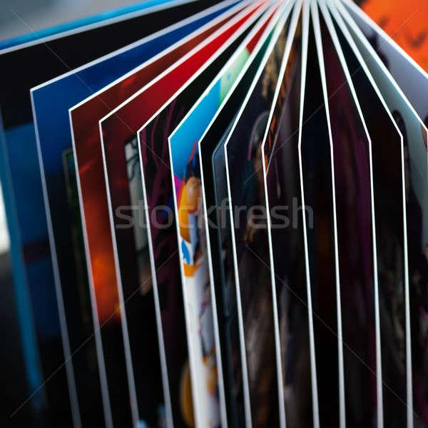 книга аннотация фото Сток-фото © ajfilgud