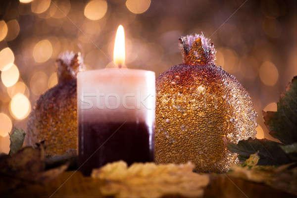 украшение украшения Рождества декоративный осень настроение Сток-фото © ajfilgud