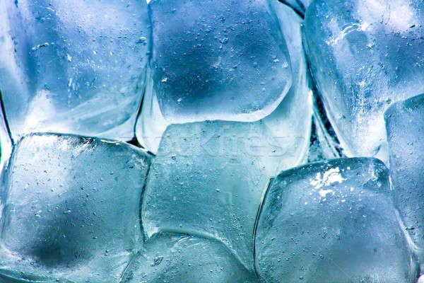 Ice cubes Stock photo © ajfilgud