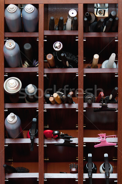Hairdressing tools Stock photo © ajfilgud