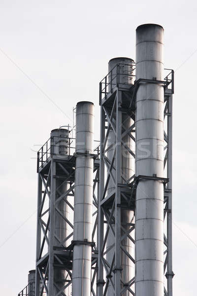 дымоход промышленности завода плохо среде воздуха Сток-фото © ajfilgud