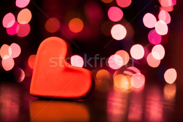 сердце Cookie таблице аннотация фон фары Сток-фото © ajfilgud