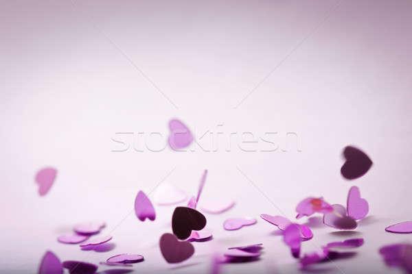 падение сердцах плохо дизайна пространстве праздник Сток-фото © ajfilgud
