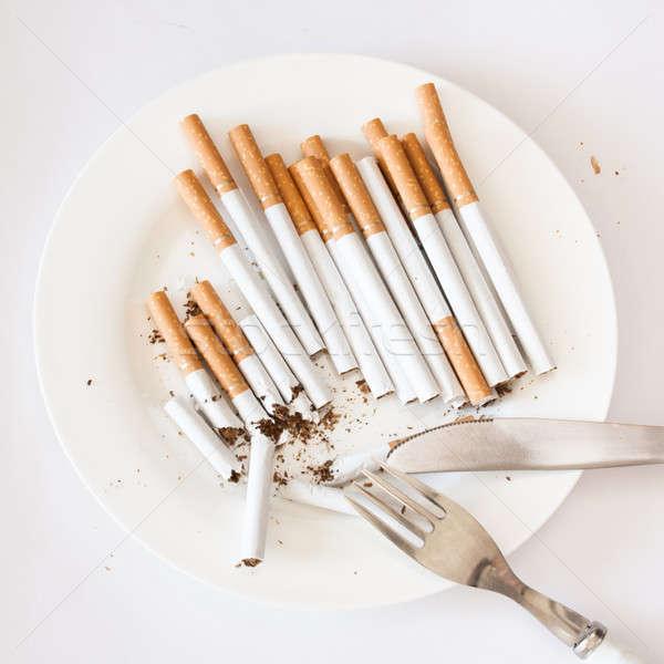 Smoking issues Stock photo © ajfilgud