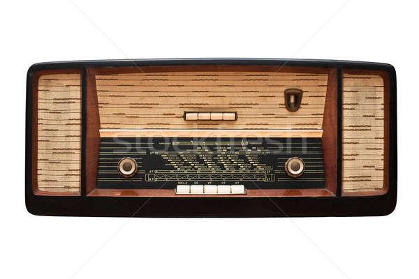 Vintage radio Stock photo © ajfilgud