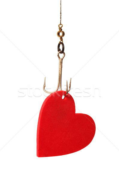 Heart on a Hook Stock photo © ajt