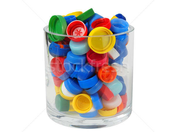 Stock photo: Recycling - Screw Caps