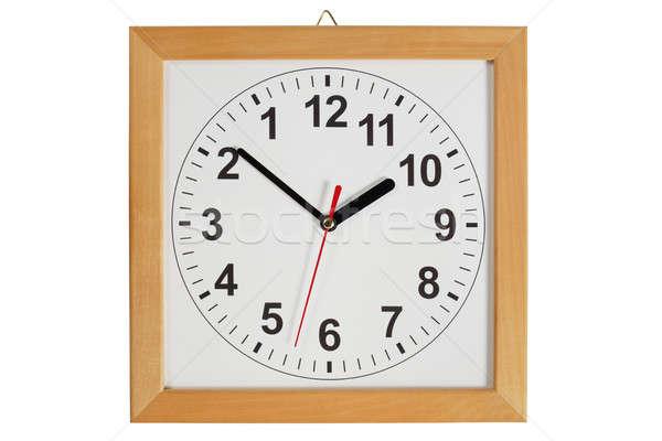 Reverse clock Stock photo © ajt