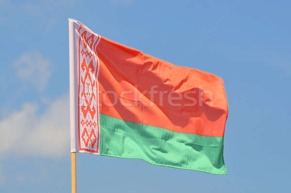 Flag of Belarus Stock photo © ajt
