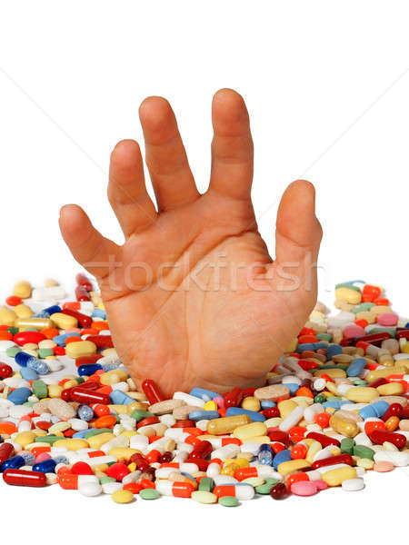 Drug addiction concept Stock photo © ajt