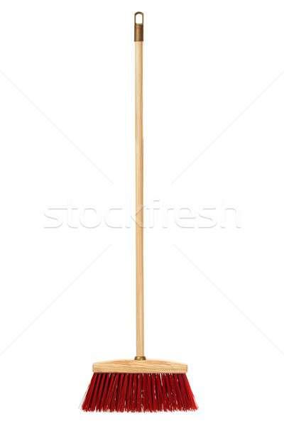 большой метлой изолированный белый чистой Сток-фото © ajt