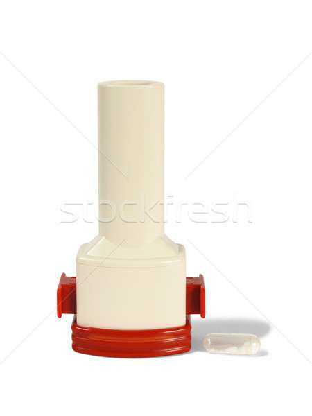 Stock photo: Asthma inhaler