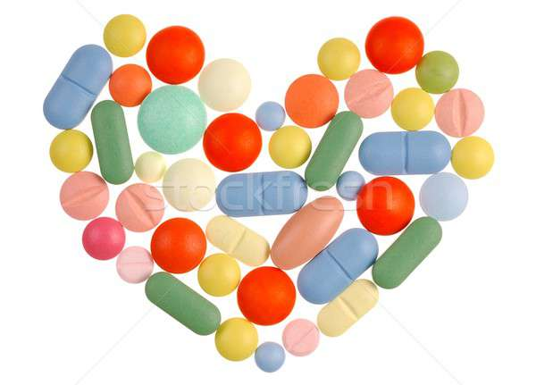 Pills Heart Stock photo © ajt