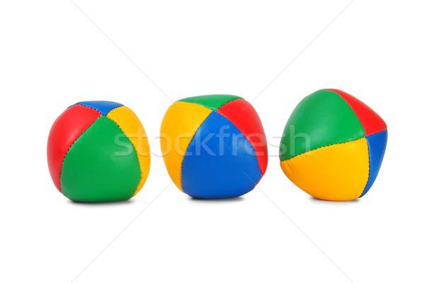 Juggling balls Stock photo © ajt