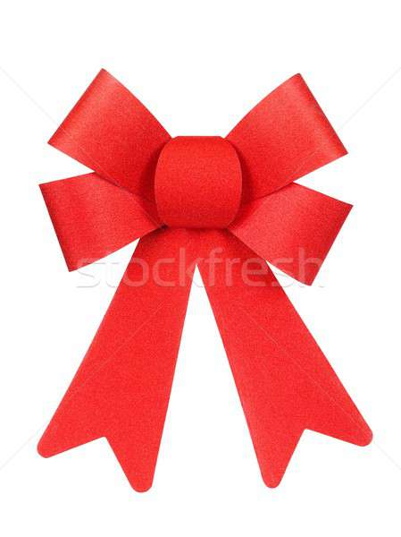 クリスマス 装飾 孤立した 弓 休日 ストックフォト © ajt