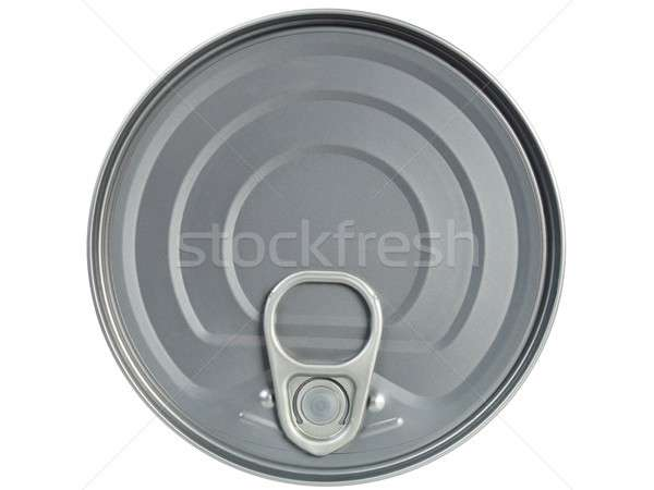 Tin can isolated on white Stock photo © ajt