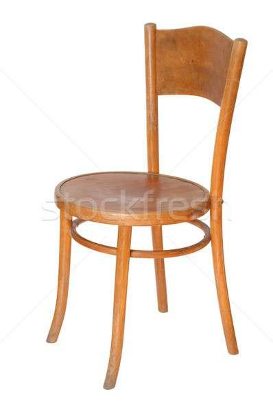 Sandalye yalıtılmış eski bacaklar mobilya Stok fotoğraf © ajt