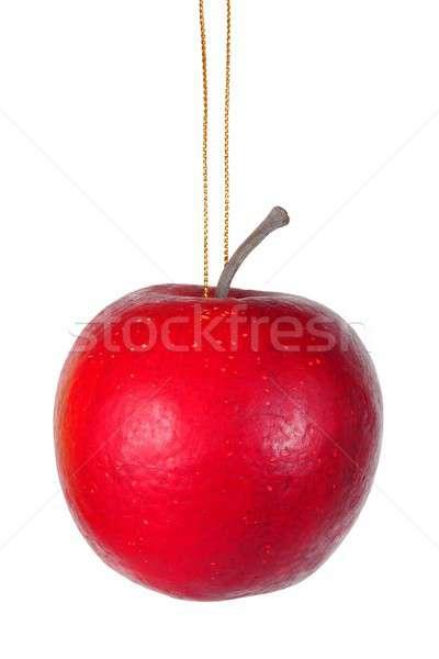 Christmas apple on white Stock photo © ajt