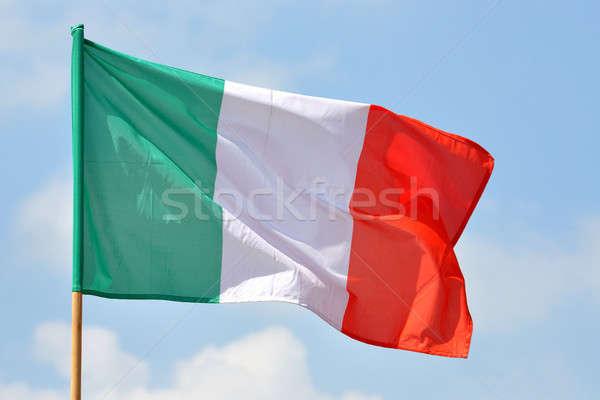 Italian Flag Stock photo © ajt