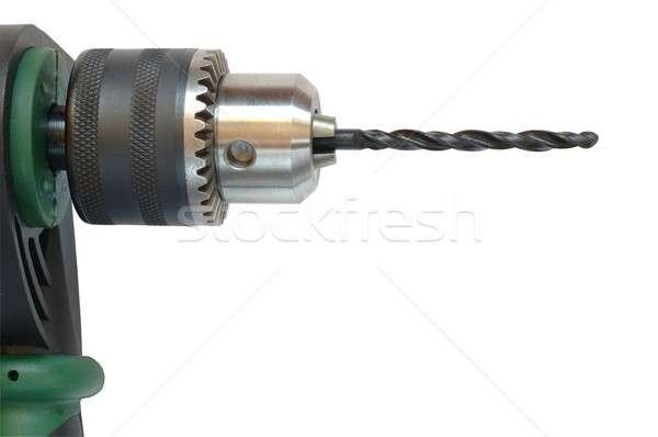 дрель изолированный технологий электрических инструментом Сток-фото © ajt