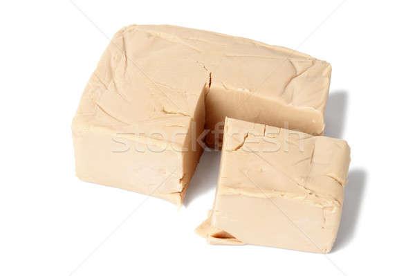 дрожжи изолированный белый продовольствие хлебобулочные Сток-фото © ajt