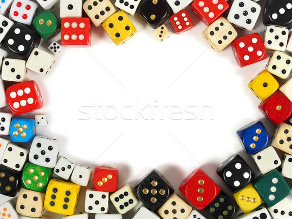 Dice with copy space Stock photo © ajt