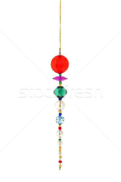 クリスマスツリー 装飾 孤立した 白 ツリー 赤 ストックフォト © ajt