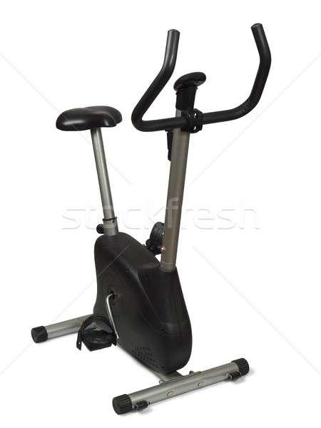 Stock photo: Exercise bile on white