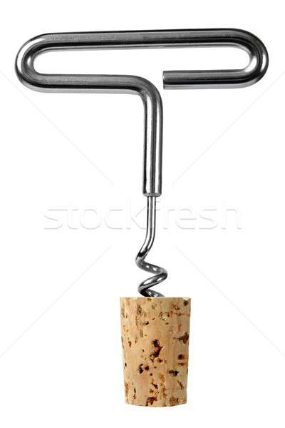 Corkscrew with stopper Stock photo © ajt