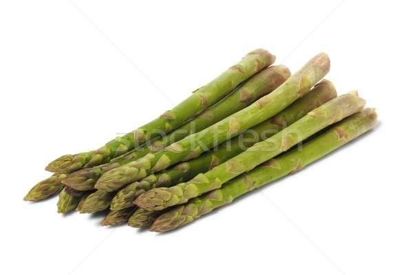 緑 アスパラガス 孤立した 白 野菜 料理 ストックフォト © ajt