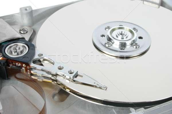 Merevlemez makró adat ír olvas elektronika Stock fotó © ajt