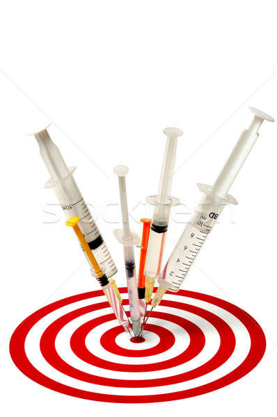 Syringes and Target Stock photo © ajt