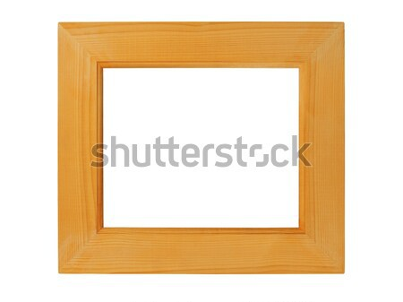 Wooden picture frame Stock photo © ajt