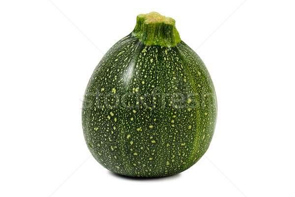 Round zucchini on white Stock photo © ajt