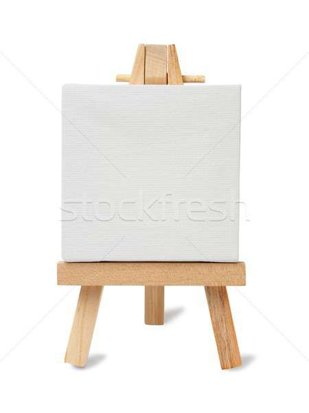 Small easel and canvas Stock photo © ajt