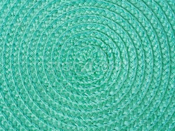 Yeşil spiral makro doku soyut dizayn Stok fotoğraf © ajt