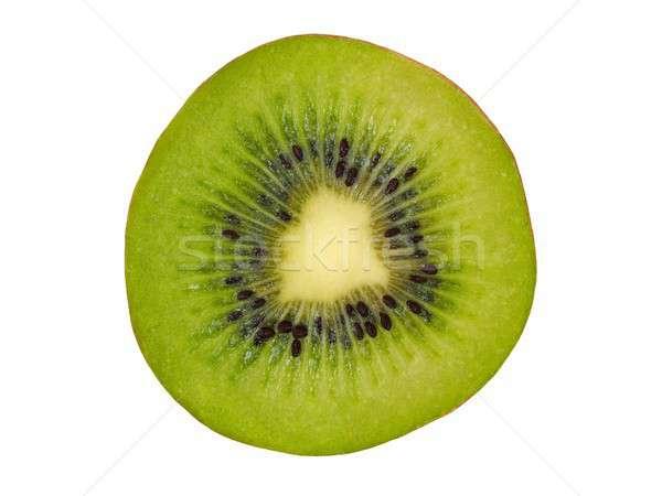 キウイ スライス 白 フルーツ 孤立した 緑 ストックフォト © ajt