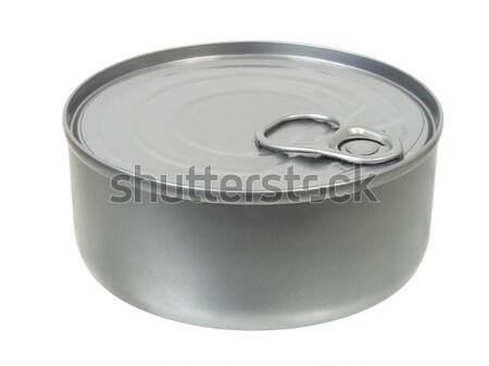 Konzervdoboz konzerv izolált fehér Stock fotó © ajt
