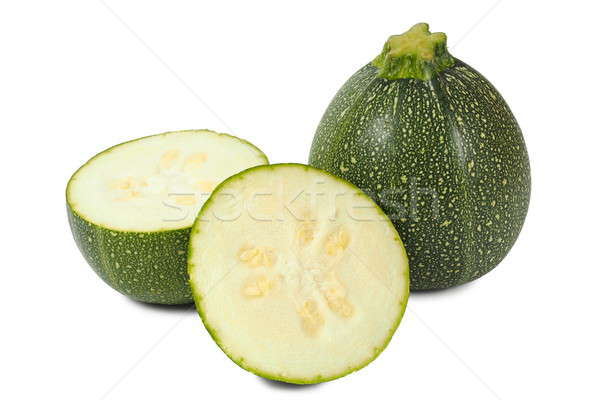 Round zucchini Stock photo © ajt