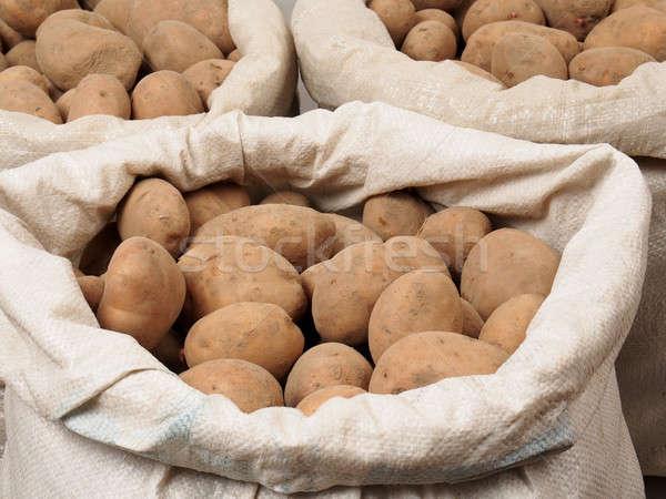 Potatoes Stock photo © ajt
