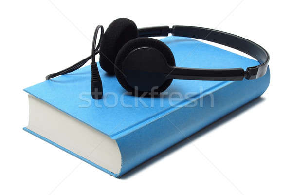 Audiobook and Headphones Stock photo © ajt