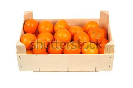 Oranges in a box Stock photo © ajt