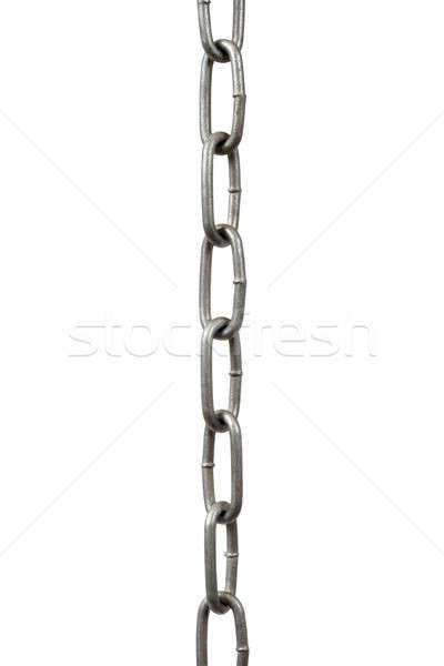 Steel chain hanging Stock photo © ajt