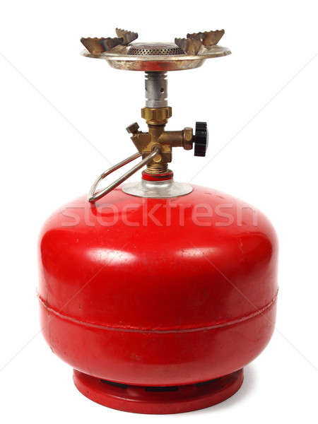 Camping gas cooker Stock photo © ajt