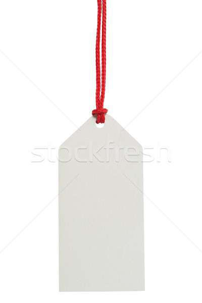 Blank price tag Stock photo © ajt