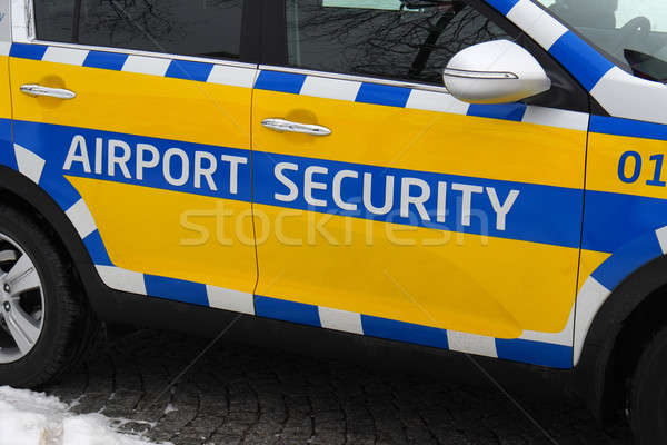 Airport security car Stock photo © ajt