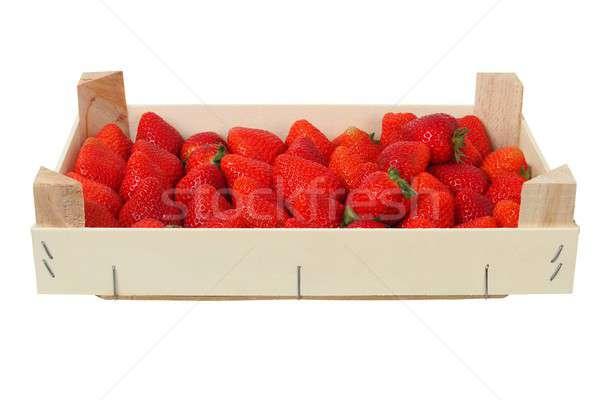 Strawberries in a box Stock photo © ajt