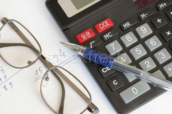 Calculations Stock photo © ajt