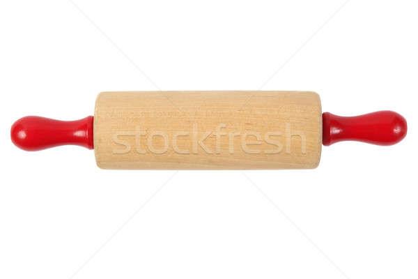 Pin haddeleme ahşap yalıtılmış beyaz gıda mutfak Stok fotoğraf © ajt