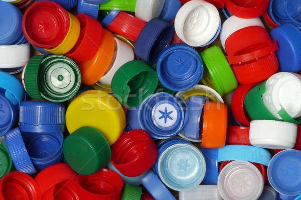 Stock photo: Background - Screw Caps